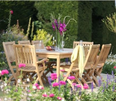 Henley 170 cm table set with Ashton Chairs