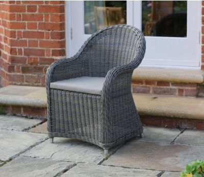 Genevieve Wicker Armchair