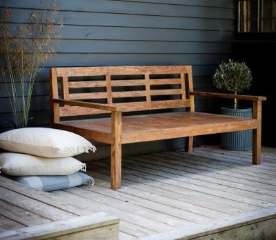 Chastleton Day Bed - Reclaimed Teak