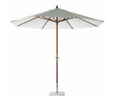 3m Round Bramblecrest Wooden Parasol