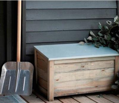 Wooden Garden Storage Box