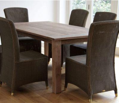 Reclaimed teak rectangle table 180x100cm